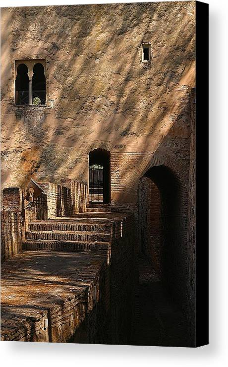 Jez C Self Canvas Print featuring the photograph Day Shadows by Jez C Self