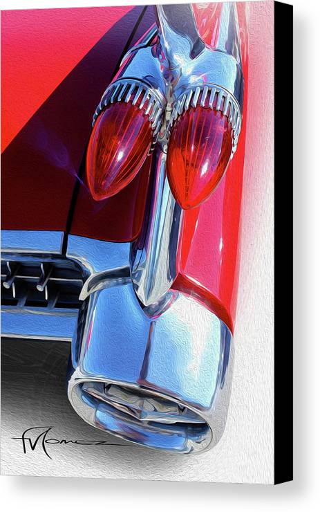 Classic Automobiles Canvas Print featuring the photograph Baby Got Back 2 by Felipe Gomez