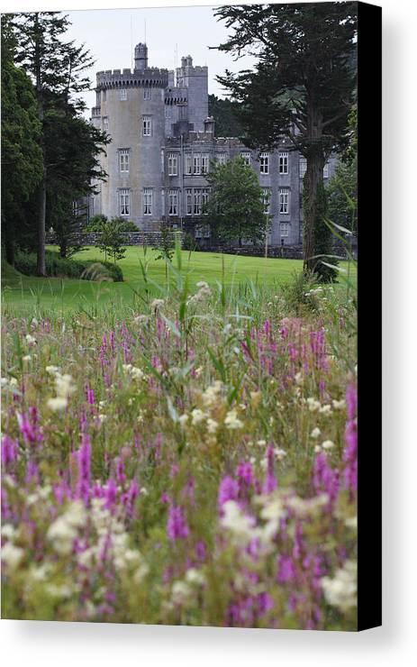 Dromoland Canvas Print featuring the photograph Dromoland Castle Ireland by Pierre Leclerc Photography