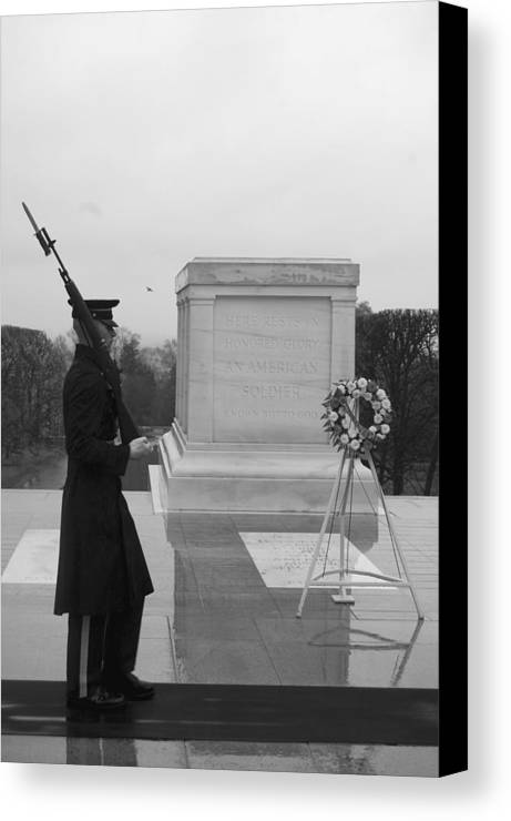 Duty Canvas Print featuring the photograph Duty by Jame Hayes
