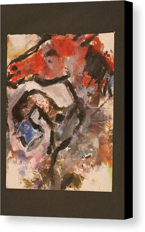 Horse Canvas Print featuring the painting E019 / 112_1445.jpg by Peter Kowalke