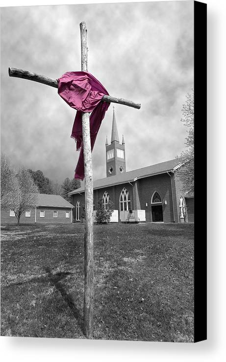 Easter Canvas Print featuring the photograph Easter by Steve Parrott