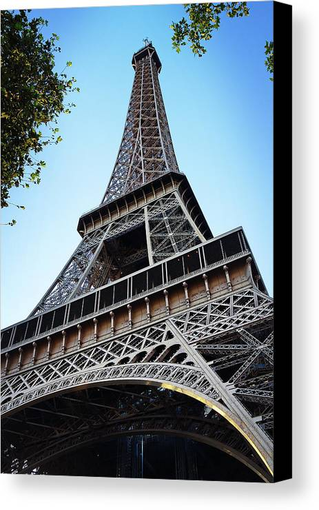 Eiffel Tower Canvas Print featuring the photograph Eiffel Tower 5 by Craig Andrews