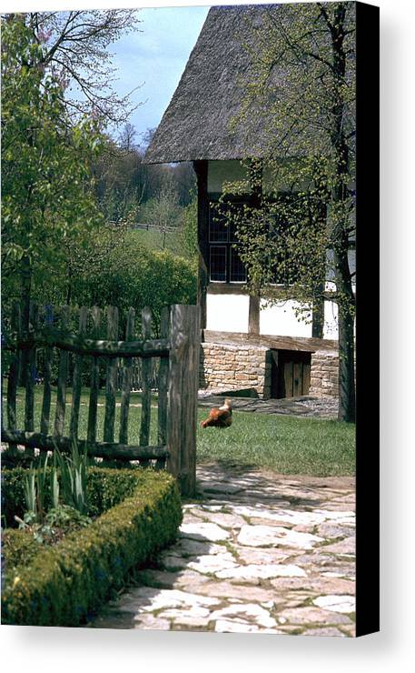 German Canvas Print featuring the photograph Farm by Flavia Westerwelle