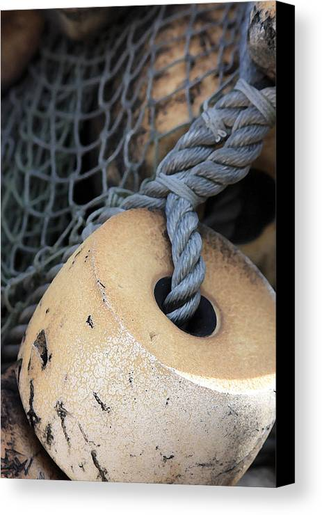 Fishing Canvas Print featuring the photograph Fishing Net by Mary Haber