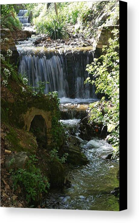 Jez C Self Canvas Print featuring the photograph Flow And Flow by Jez C Self
