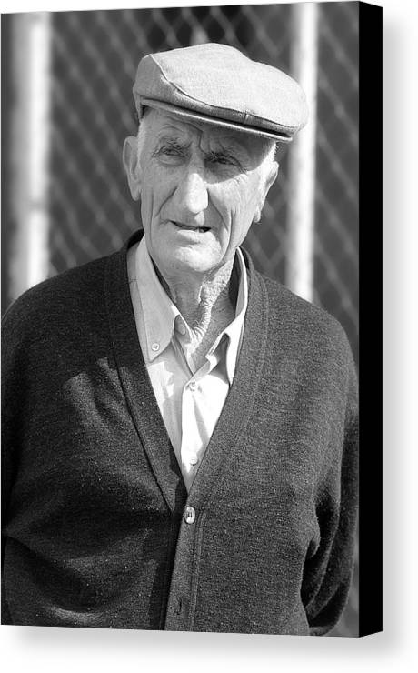 Photographer Canvas Print featuring the photograph Gramps by Jez C Self