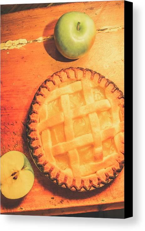 Grandmas Homemade Apple Tart Canvas Print / Canvas Art by Jorgo ...