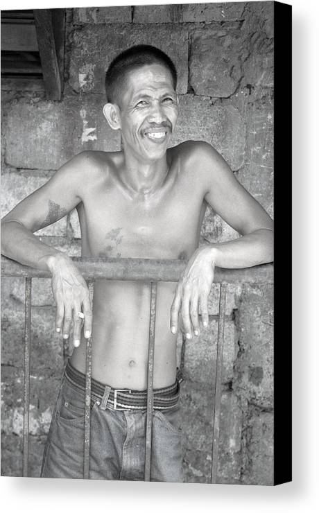 Photographer Canvas Print featuring the photograph Happy by Jez C Self