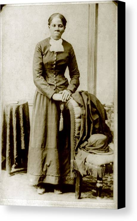 19th Century Canvas Print featuring the photograph Harriet Tubman, Ca. 1860-75 by Everett