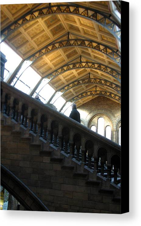 Jez C Self Canvas Print featuring the photograph He Walks Alone by Jez C Self