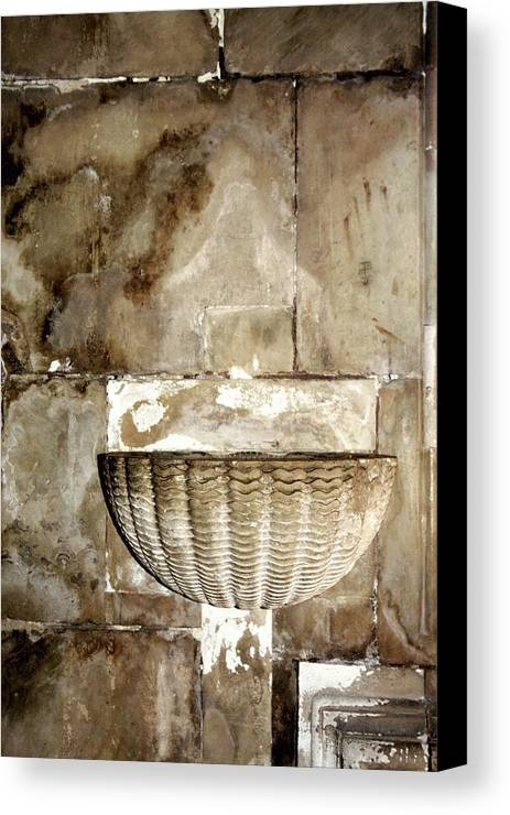 Holy Water Canvas Print featuring the photograph Holy Water by Raquel Daniell