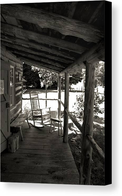Front Canvas Print featuring the photograph Home Sweet Home by Joanne Coyle