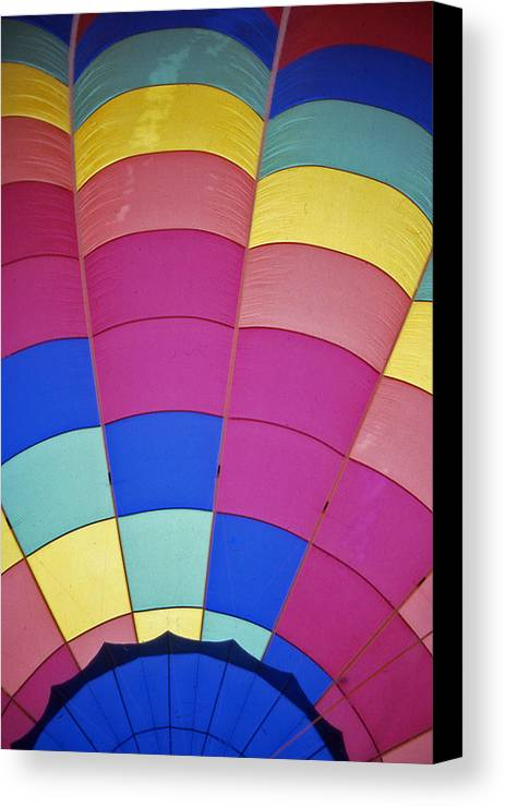 Hot Air Balloon Canvas Print featuring the photograph Hot Air Balloon - 9 by Randy Muir