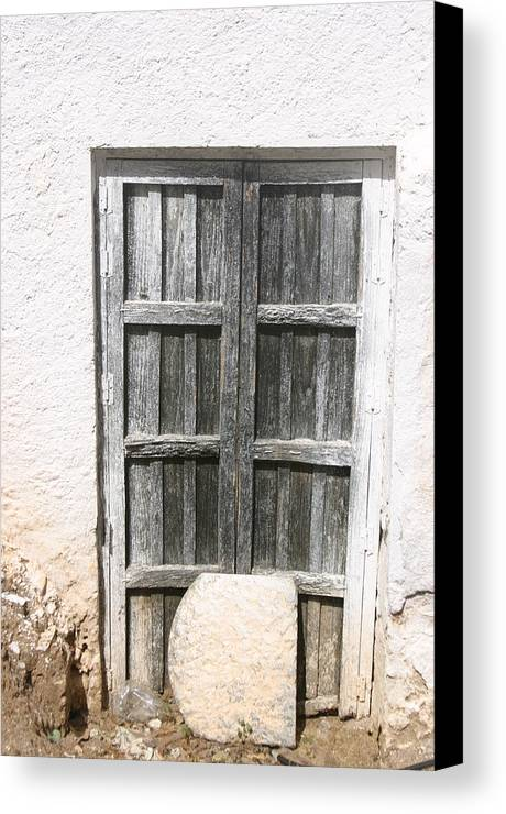Photographer Canvas Print featuring the photograph In Or Out by Jez C Self
