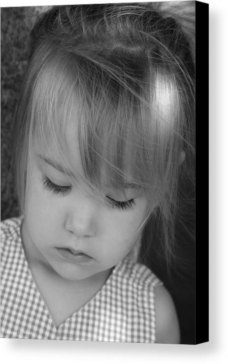 Angelic Canvas Print featuring the photograph Innocence by Margie Wildblood