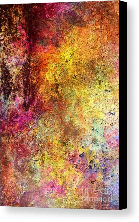 Iron Canvas Print featuring the painting Iron Texture Painting by Justyna JBJart