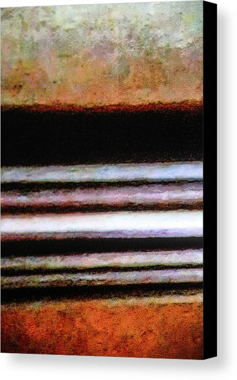 Abstract Canvas Print featuring the photograph Isaiah's Highway by Donna Fonseca Newton