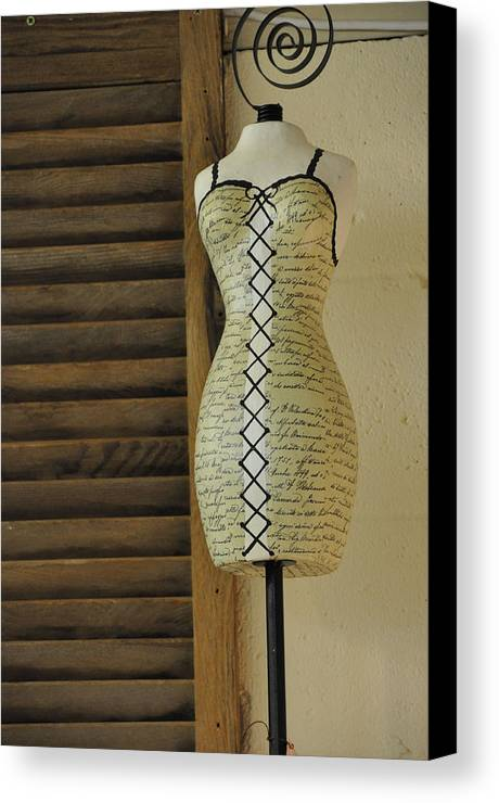 Still Life Canvas Print featuring the photograph Just Perfect For Me by Jan Amiss Photography