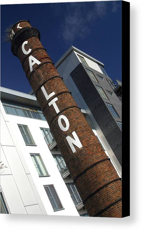 Jez C Self Canvas Print featuring the photograph Leaning Tower Of Carlton by Jez C Self