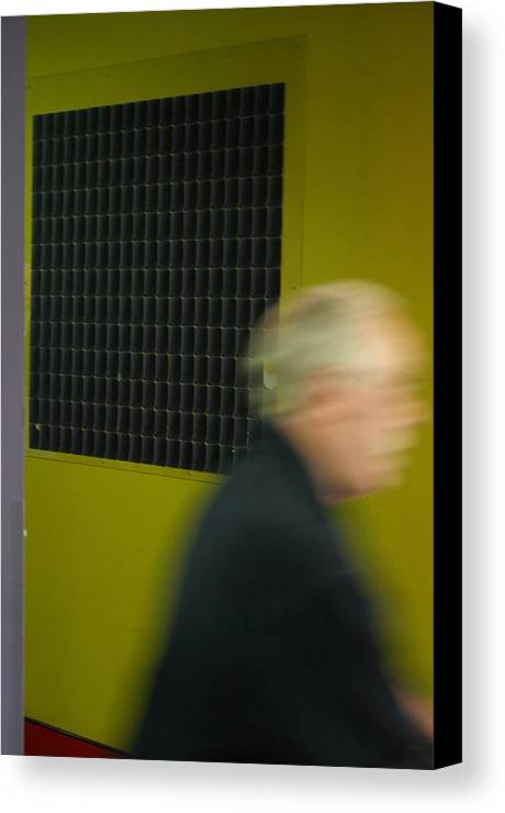 Jez C Self Canvas Print featuring the photograph Leaving Quickly by Jez C Self