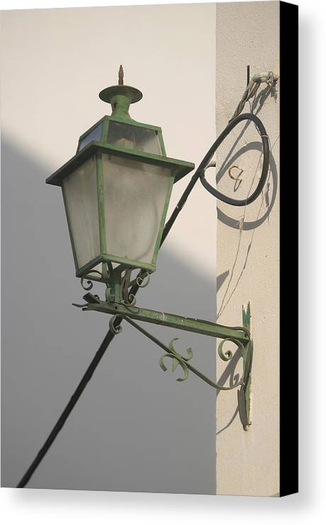Photographer Canvas Print featuring the photograph Leen Lamp by Jez C Self