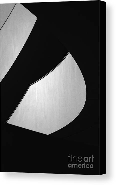 Abstract Canvas Print featuring the photograph Light And Dark by Hideaki Sakurai