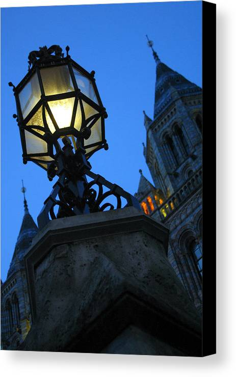Jez C Self Canvas Print featuring the photograph Lighting Up History by Jez C Self