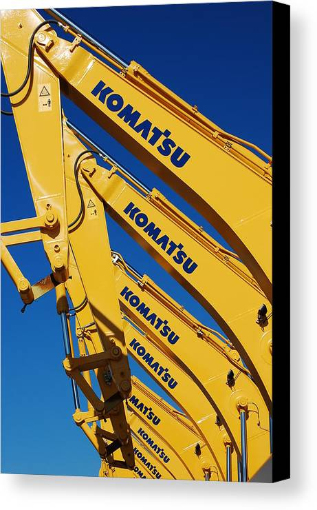Machinery Canvas Print featuring the photograph Local Industry by Jessica Roth