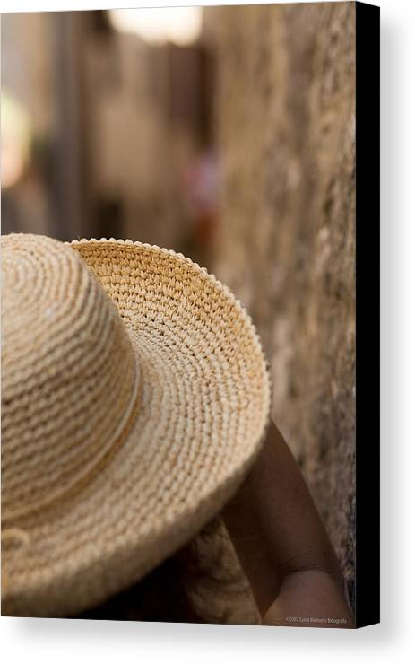 Italy Canvas Print featuring the photograph Looking Thrugh Your Eyes by Luigi Barbano BARBANO LLC