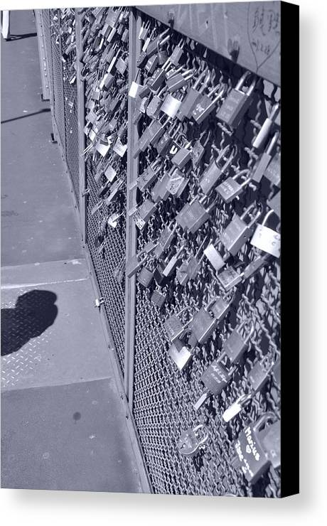 Art Canvas Print featuring the photograph Lovers Locks 3 by Noah Cole