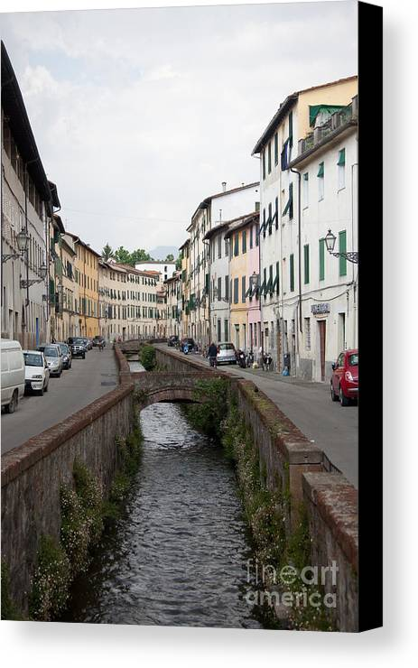 Lucca Canvas Print featuring the photograph Lucca by Steven Gray