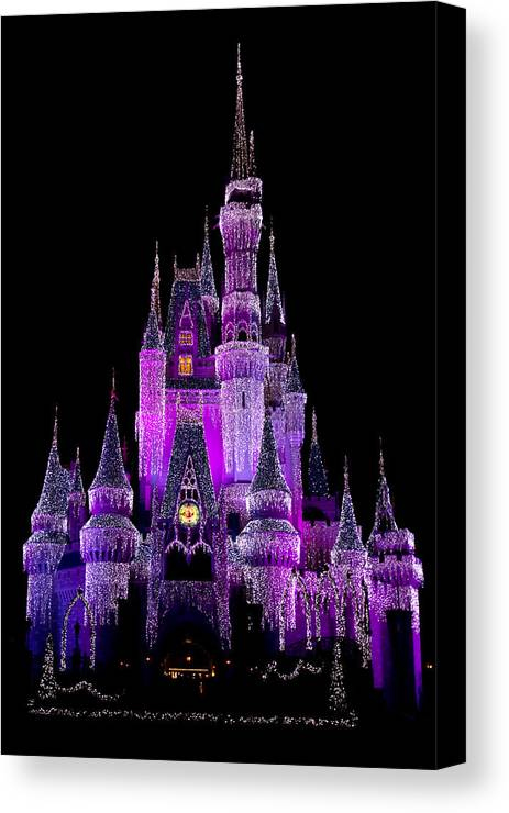 Castle Canvas Print featuring the photograph Magical by Kevin Brett