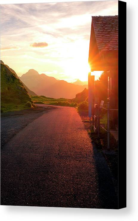 Sunrice Canvas Print featuring the photograph Massive Sunrice by Global Pixxel Foto Tours and Hikes