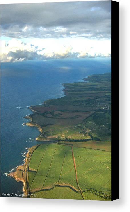 Maui Canvas Print featuring the photograph Maui Coastline by Nicole I Hamilton
