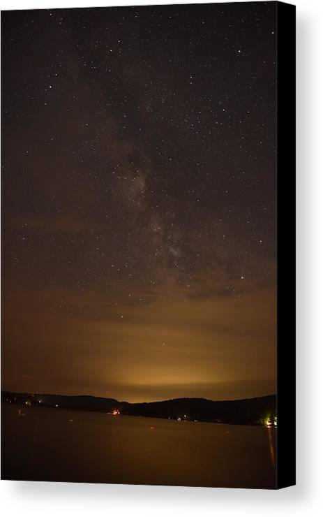 New England Canvas Print featuring the photograph Milkyway #3 by Susan Russo