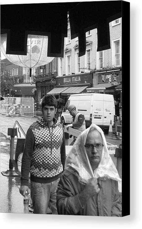 Jez C Self Canvas Print featuring the photograph Miserable Day by Jez C Self