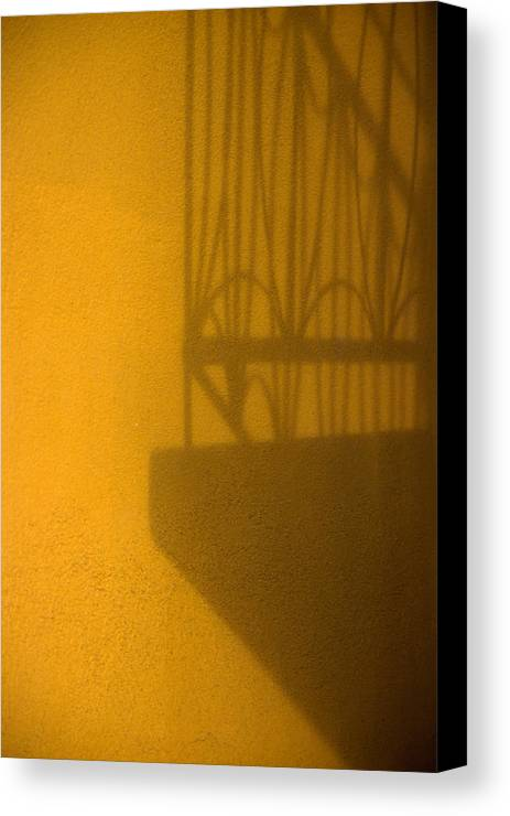 Montreal Canvas Print featuring the photograph Montreal Shadow 1 by Art Ferrier