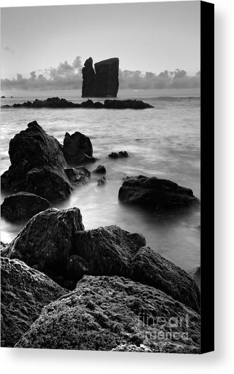Azoren Canvas Print featuring the photograph Mosteiros Islets by Gaspar Avila