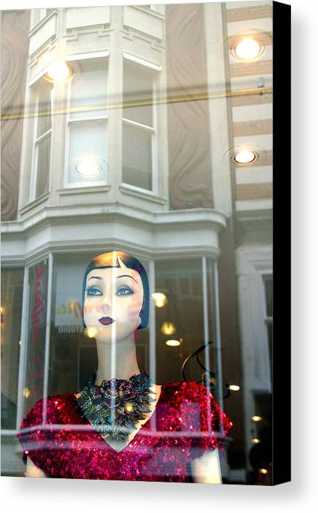 Jez C Self Canvas Print featuring the photograph My Shop And I Say Who Comes In by Jez C Self