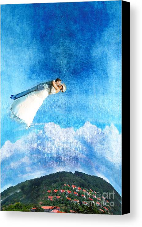 Wedding Canvas Print featuring the photograph New Way by Zygmunt Kozimor