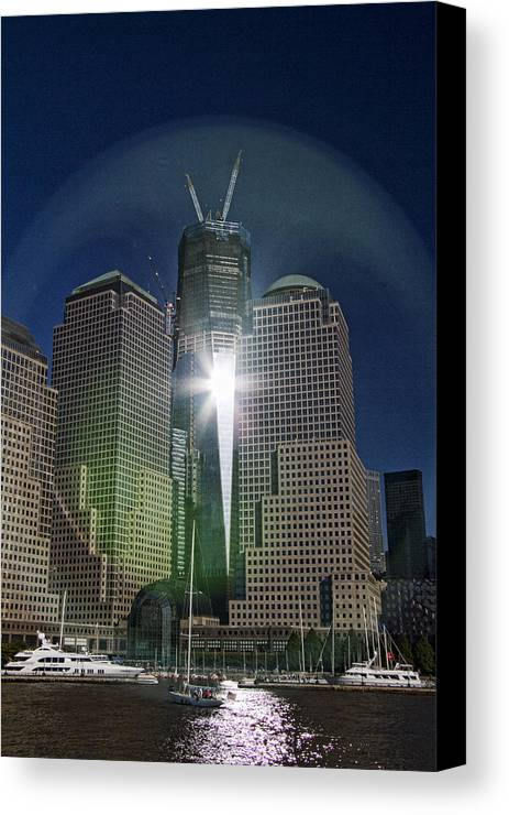 New Canvas Print featuring the photograph New World Trade Center by David Smith