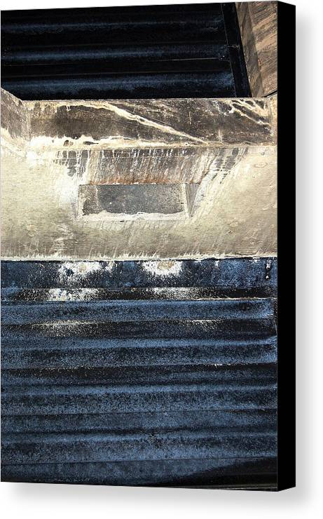 Abstract Canvas Print featuring the photograph Nj Abstract One by Heather S Huston