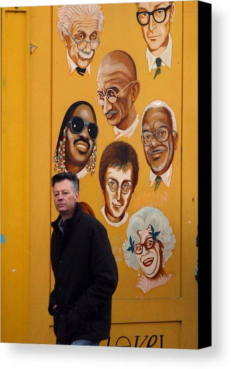 Jez C Self Canvas Print featuring the photograph No Snapping You by Jez C Self