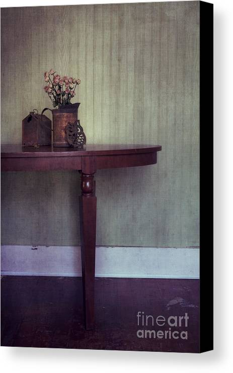 Rusty Canvas Print featuring the photograph Old And Rusty by Priska Wettstein