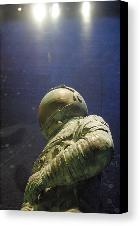 Jez C Self Canvas Print featuring the photograph One Average Step by Jez C Self