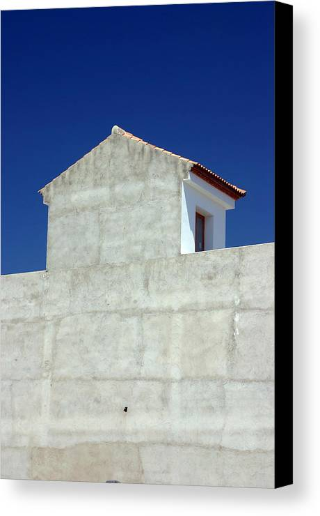 Photographer Canvas Print featuring the photograph Our House by Jez C Self