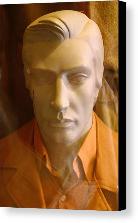 Jez C Self Canvas Print featuring the photograph Pained by Jez C Self