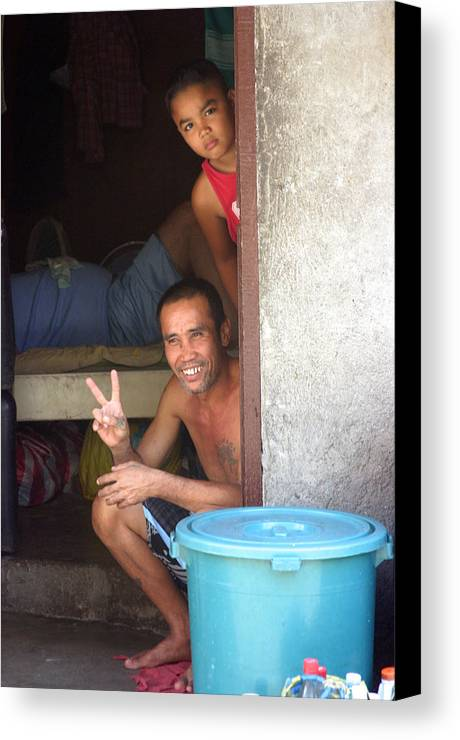 Photographer Canvas Print featuring the photograph Peace 2 by Jez C Self