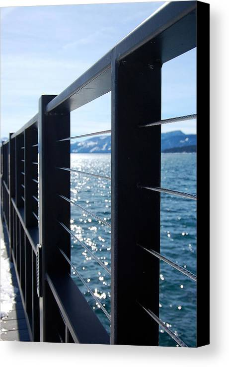 Photography Canvas Print featuring the photograph Perspective by Heather S Huston